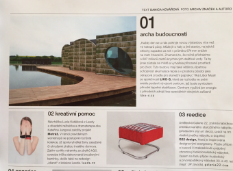 "Natural thermal stabilization is becoming a household name. Our project wad noticed even by ""Dolce Vita"", one of the best design and lifestyle magazines."